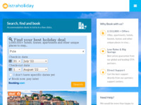 Frontpage screenshot for site: Istraholiday (http://www.istraholiday.com/)