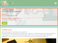 Frontpage screenshot for site: Privatni dječji vrtić Dječja igra (http://www.djecja-igra.hr/)