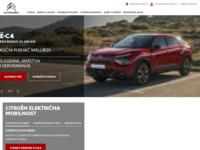Slika naslovnice sjedišta: Citroën Hrvatska (http://www.citroen.hr/)
