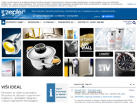 Frontpage screenshot for site: ZEPTER International - Hrvatska (http://www.zepter.hr)