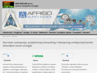 Frontpage screenshot for site: Geo-Solar (http://www.geo-solar.hr)