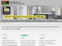 Slika naslovnice sjedišta: Geo-Solar (http://www.geo-solar.hr)