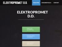 Slika naslovnice sjedišta: Elektropromet d.d. (http://www.elektropromet.hr/)