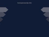 Frontpage screenshot for site: Kompenzacije.biz (http://www.kompenzacije.biz/)