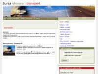 Slika naslovnice sjedišta: Burza utovara (http://www.transport.hr)