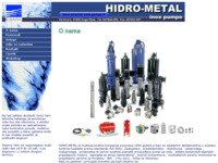 Frontpage screenshot for site: Hidro-metal -Inox pumpe Ebara (http://www.hidrometal.hr/)