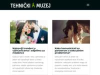 Frontpage screenshot for site: Tehnički muzej Zagreb (http://www.tehnicki-muzej.hr)