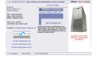 Frontpage screenshot for site: B computers Vinkovci (http://www.b-computers.hr/)