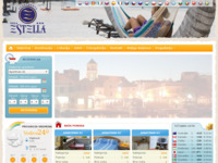 Frontpage screenshot for site: Villa Estella, Vodice (http://www.villa-estella.com/)