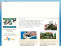 Frontpage screenshot for site: Apartman Andrić otok Rab (http://www.apartment-rab.com)