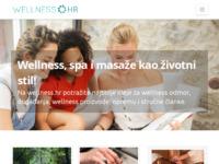 Slika naslovnice sjedišta: Wellness portal (http://www.wellness.hr)