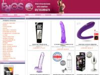 Frontpage screenshot for site: Sex shop (http://eros.hr)