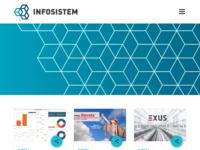 Slika naslovnice sjedišta: Infosistem OnLine (http://www.infosistem.hr/)