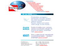 Slika naslovnice sjedišta: Ronex d.o.o. (http://www.ronex.hr/)