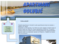 Frontpage screenshot for site: apartmanigolubic.com (http://www.apartmanigolubic.com)