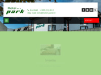 Frontpage screenshot for site: Hotel Park, Našice (http://www.hotel-park.hr/)