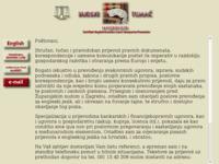 Frontpage screenshot for site: Sudski tumač i prevođenje (http://www.inet.hr/~matopic/index.html)