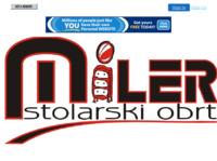 Slika naslovnice sjedišta: Stolarija Miler (http://www.stolarija-miler.20m.com/)