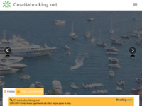 Frontpage screenshot for site: Croatiabooking net (http://www.croatiabooking.net/)