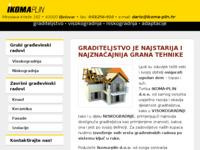 Slika naslovnice sjedišta: Ikoma plin d.o.o. Bjelovar (http://ikoma-plin.hr/)