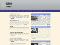 Frontpage screenshot for site: Audio puls (http://www.audiopuls.hr/)