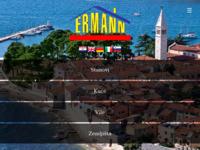 Frontpage screenshot for site: Ermann agencija za nekretnine, Novigrad (http://www.ermann-agency.hr/)