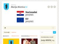 Slika naslovnice sjedišta: Općina Marija Bistrica (http://www.marija-bistrica.hr/)