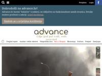 Slika naslovnice sjedišta: portal advance.hr (http://www.advance.hr)