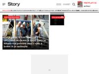 Slika naslovnice sjedišta: Hrvatski celebrity magazin Story (http://www.story.hr)