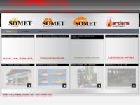 Frontpage screenshot for site: Somet d.o.o. (http://www.somet.hr)