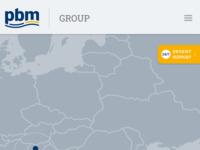 Frontpage screenshot for site: PBM (http://www.pbm.hr)