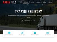 Slika naslovnice sjedišta: Adria Field d.o.o. (http://www.adria-field.hr/)