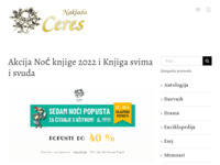 Frontpage screenshot for site: Ceres (http://www.ceres.hr/)
