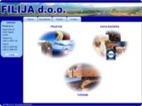 Slika naslovnice sjedišta: Filija - međunarodno otpremništvo i transport, apartmani (http://www.filija.hr)