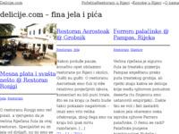 Slika naslovnice sjedišta: Delicije.com (http://www.delicije.com)