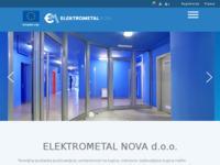 Frontpage screenshot for site: Elektrometal d.d. (http://www.elektrometal.hr/)