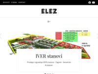 Slika naslovnice sjedišta: Elez d.o.o. (http://www.elez.hr/)