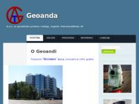 Slika naslovnice sjedišta: Geoanda d.o.o (http://www.geoanda.hr/)
