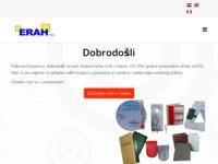 Slika naslovnice sjedišta: Erah d.o.o. (http://www.erah.hr/)