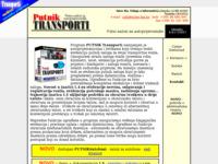 Frontpage screenshot for site: PUTNIKTransporti (http://transporter.inter-biz.hr/)
