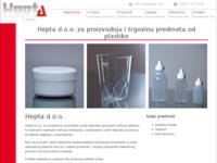 Slika naslovnice sjedišta: Hepta d.o.o. Split (http://www.hepta.hr/)