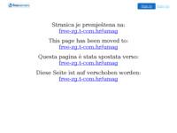 Frontpage screenshot for site: Apartman u Umagu (http://umag.freeservers.com/)