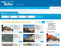 Frontpage screenshot for site: Nekretnine Vrsar (http://www.nelblu.net)