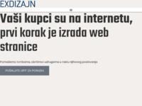 Slika naslovnice sjedišta: Exdizajn (http://www.exdizajn.com)
