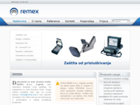 Slika naslovnice sjedišta: Remex (http://www.remex.org)