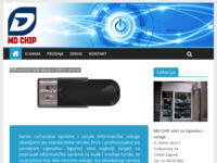 Frontpage screenshot for site: Md-chip d.o.o. (http://md-chip.pondi.hr/)
