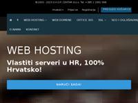 Frontpage screenshot for site: ShopCentar web hosting (http://www.shopcentar.hr/)