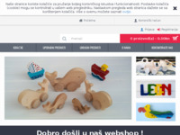 Frontpage screenshot for site: Eko igračke (http://www.ekoigracke.com)