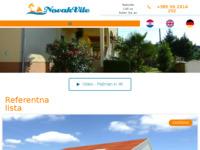 Slika naslovnice sjedišta: Novak vile d.o.o. (http://www.novakvile.hr/)