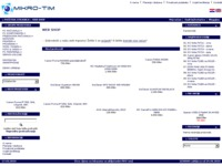 Frontpage screenshot for site: Mikro-tim d.o.o. Ivanić Grad (http://www.mikro-tim.hr)